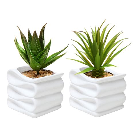 small pot plants modern white folded design small ceramic plant pot