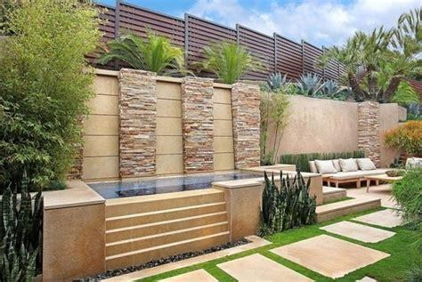 handlauf draußen garten idee terrasse