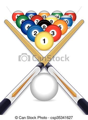 pool table cue sticks billiards balls with cue sticks billiards balls cued with