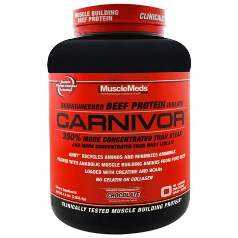 Original Musclemeds Carnivor Whey Isolate 4 5 Lb 4 Lbs Meds Ori carnivor 4 lbs musclemeds pro vit store supplements