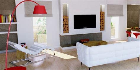 arredare pareti soggiorno un progetto per arredare un soggiorno con pareti oblique