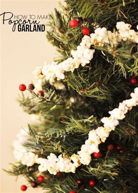 garland for tree 17 best ideas about popcorn garland on rustic
