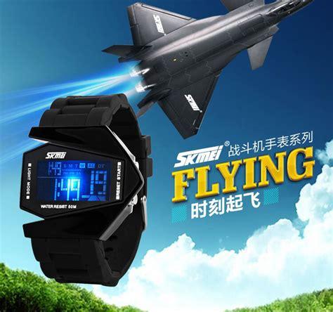 Jam Tangan Airplane Pria Skmei 0817bm skmei jam tangan airplane pria 0817bm camouflage