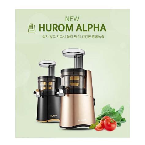Blender Hurom hurom juicer h aa bbf17 220v 60hz black gold h aa