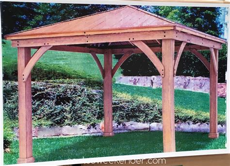 yardistry pergola costco yardistry wood gazebo yardistry