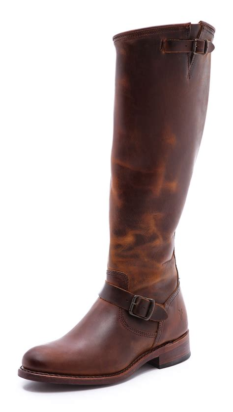 frye boots frye women s 150th anniversary jet engineer boots faeaa