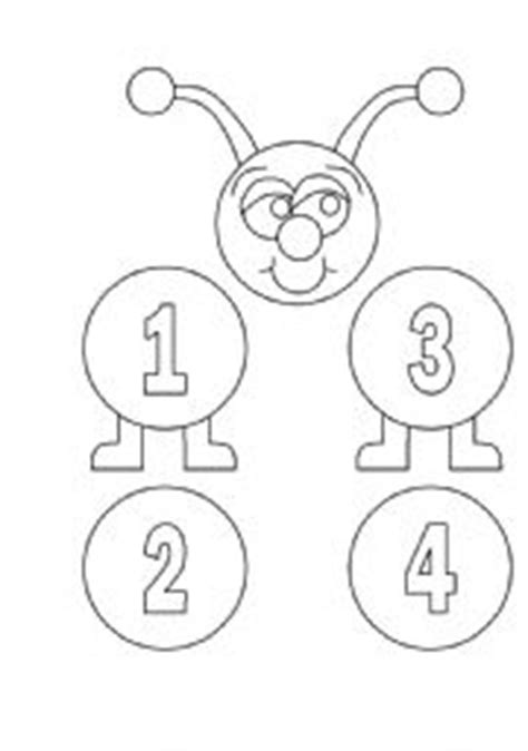 free printable caterpillar number line english teaching worksheets numbers