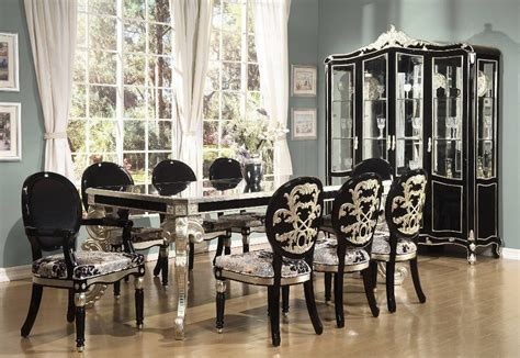 black formal dining room sets emejing black formal dining room sets gallery