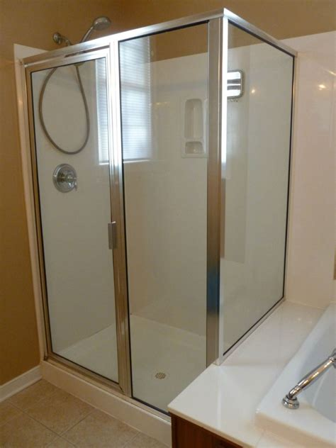 How To Repair Glass Shower Door Shower Door Replacement Richmond Before After Virginia Shower Door Llc Richmond Va 804
