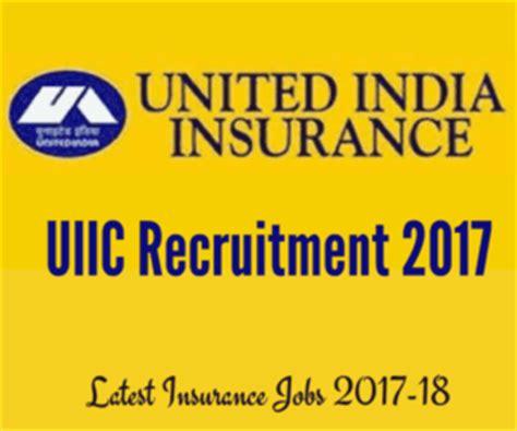 united india insurance uiic 684 assistant recruitment uiic recruitment 2017 for assistant posts in jammu kashmir