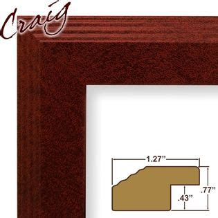 27 By 14 Frame by Craig Frames Inc 14 Quot X 20 Quot Maroon Smooth Finish 1 27 Inch