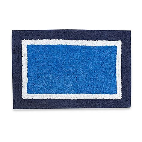 Navy Bathroom Rugs Boardwalk Bath Rug In Navy Bed Bath Beyond