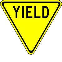 yield sign color manual of traffic signs were yield signs yellow