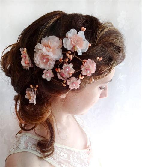 gentle haircuts berkeley cherry blossom wedding inspiration bridal hair and