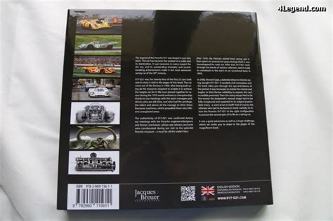 1405414081 porsche une fabuleuse histoire livre porsche 917 021 par jacques breuer la fabuleuse