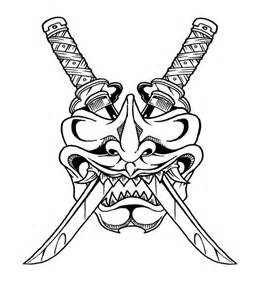 Outline In Color Masks Japanese by Best 25 Samurai Mask Ideas On Oni Samurai And Japanese Mask