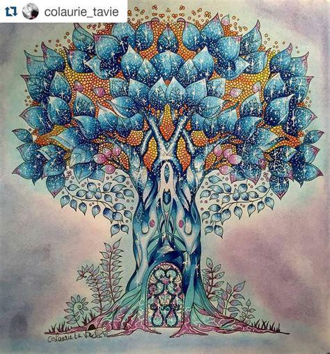 Enchanted Forest Johanna Basford Inspirations 84 Secret Garden Coloring Book Mph