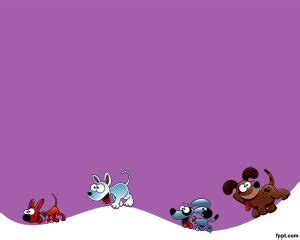 powerpoint templates for docs perros plantilla powerpoint violeta plantillas