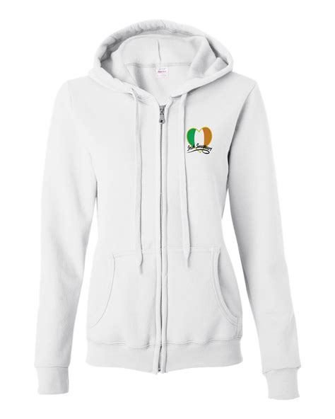 hoodie design ireland ladies zip up hoodies trendy clothes