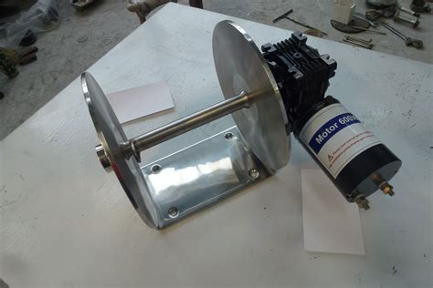 boat anchor winch motor anchor winch drum winch 1000w stainless steel winch