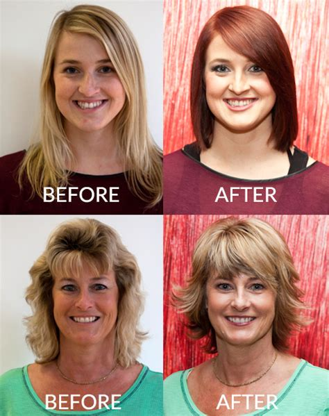 hairstyle makeovers before and after hairstyle makeover before and after www imgkid com the