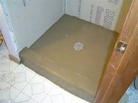 How To Float A Shower Floor by 25 Best Ideas About Shower Pan Liner On Diy