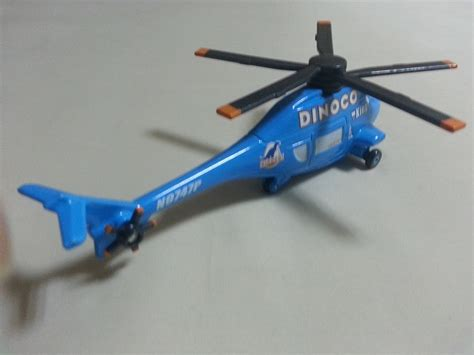Diecast Metal Helicopter 595 A 34 mattel disney pixar cars 2 dinoco helicopter diecast car 1 55 new ebay