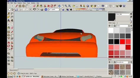 google sketchup robot tutorial how to make simple car in google sketchup tutorial