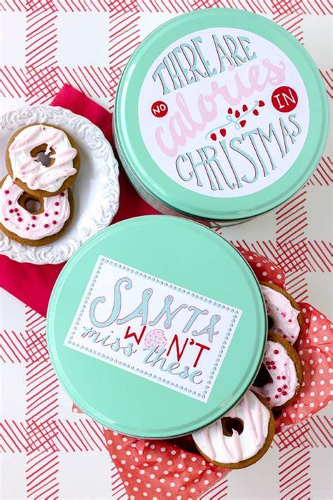 christmas cookie tins diy babble