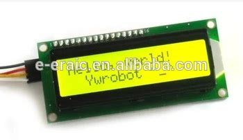 Lcd1602 Lcd 1602 Yellow And Green Screen With Backlight Lcd Display yellow green screen iic i2c lcd 1602 lcd module buy