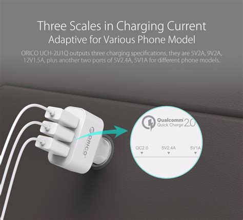 Charger Mobil Cepat 1 Port Charge 2 0 18w Tronsmart Cc1q orico usb car charger 3 port with qualcomm charge 2