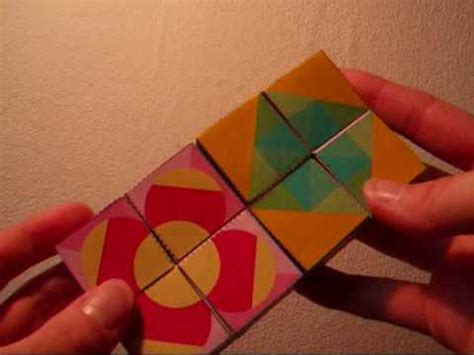 How To Make Amazing Paper Toys - how to make a cool paper kaleidocycle funnycat tv