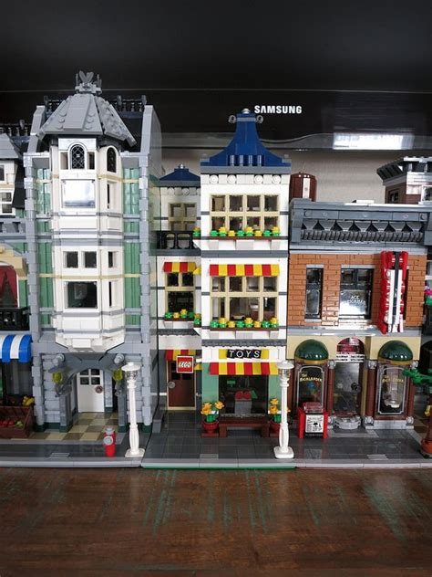 lego modular tutorial mod toy shop and grocery 31036 lego town eurobricks