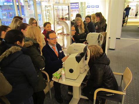 optiker weiden scholl realschule weiden 187 erkundungstour beim optiker