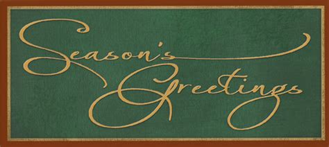 Script Gift Cards - seasons greetings script money holder christmas money gift card holder by designer
