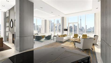 How To Do Floor Plan by The Museum Penthouse In Toronto Offered For 12 800 000