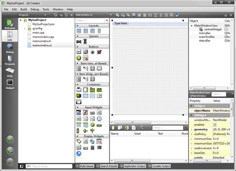 qt designer mainwindow layout free download qt creator tutorial pdf free programs