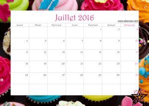 Calendrier En Ligne Calendrier Gratuit 224 Imprimer Cupcake 2016