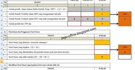 300 rumus excel rumus excel laporan cepat model c1 kwk kpu 300 rumus excel