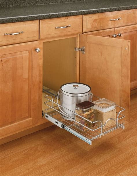 Rev A Shelf by Rev A Shelf 5wb1 0918 Cr Chrome 5wb Series 9 Quot Single Pull