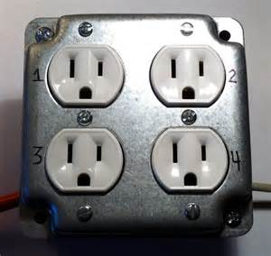 Four Outlet Wiring A New Receptacle Wiring Free Engine Image For