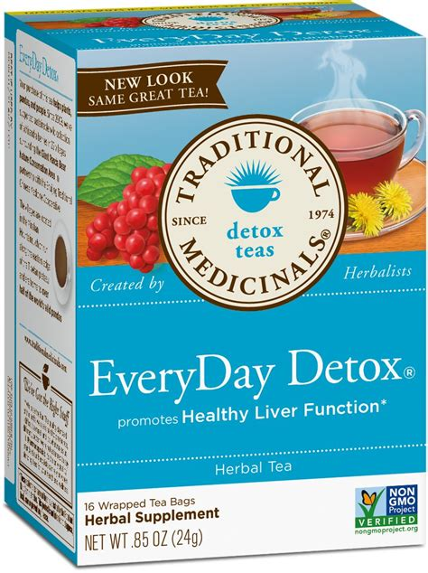 Is Everyday Detox Tea Safe by Traditional Medicinals Organic Roasted