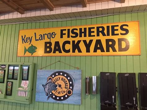 key largo fisheries backyard key largo fisheries backyard menu prices restaurant