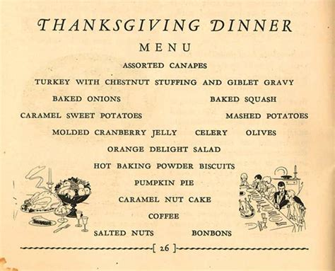 a thanksgiving menu from the hartman center the devil s tale