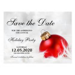 christmas party save the date postcards zazzle