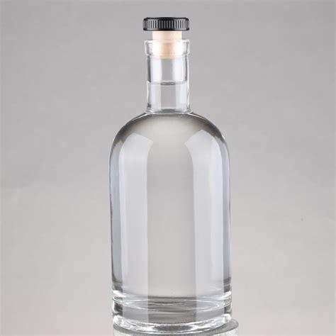 Moorlife Botol 750 Ml Sale 750ml 700ml white clear spirit glass bottles with cork