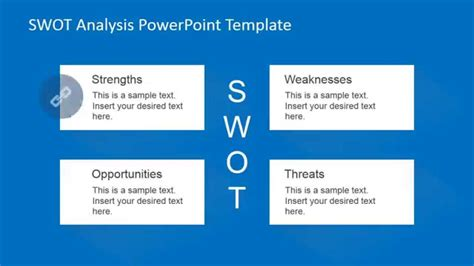 powerpoint swot template animated swot analysis powerpoint template