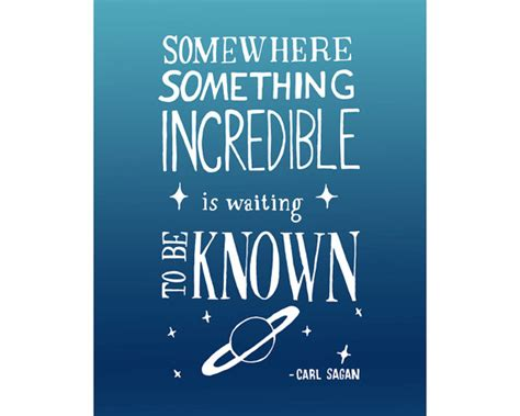 printable science quotes 11x14 carl sagan quote art print inspirational astronomy