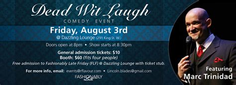 On Our Radar Is Fashionably Late by Fashionably Late Fridays Toronto S 1 Friday