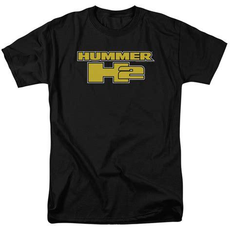 hummer t shirts gm hummer t shirt h2 block logo mens black